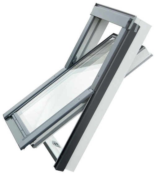 YARDLITE PVC APX/APV Centre-Pivot Roof Window