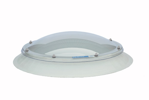 Whitesales Em-Dome Circular Rooflight, Splayed 150mm Kerb