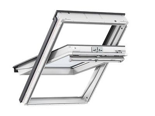 VELUX White Painted Centre Pivot Windows