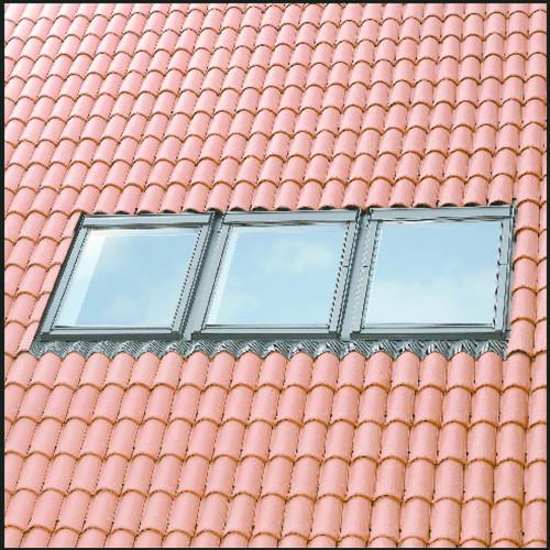 VELUX EKW MK10 S0312 Triple Tile Flashing