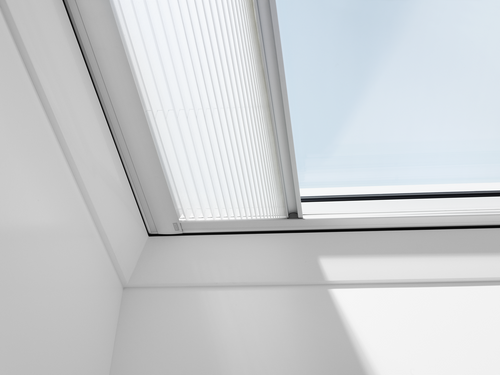 VELUX FMG Electric Pleated Blind for Flat Roof Windows