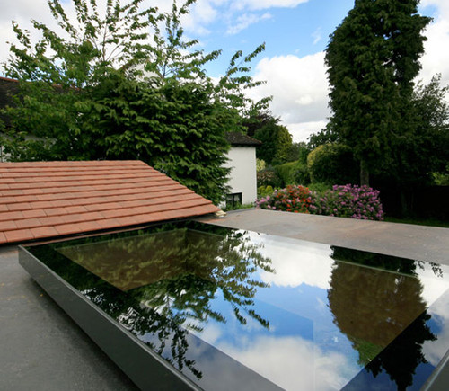 EOS Flat Roof 500x1200 Fixed Window With kerb