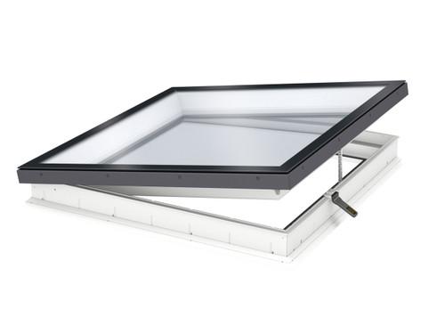 VELUX Electric Flat Glass Flat Roof Window - Open