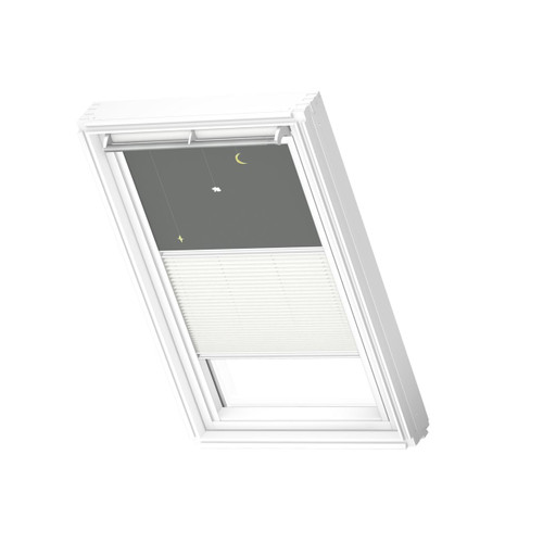 VELUX 4665 Duo blackout Mobile / white