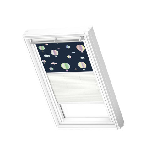 VELUX 4666 Duo blackout Hot air balloons / white