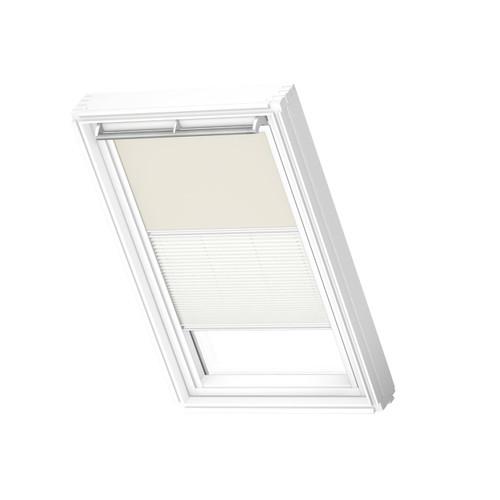 VELUX 1085 Duo blackout beige/white