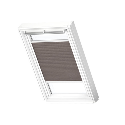 VELUX 1276 Pleated blind Dusty Brown