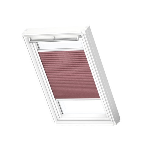 VELUX 1279 Pleated blind Wine Red