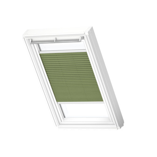 VELUX 1280 Pleated blind Forest Green