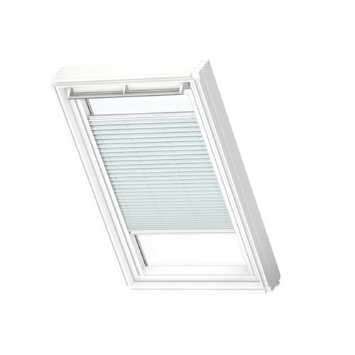 VELUX 1285 Pleated blind Soft Blue