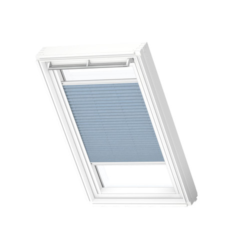 VELUX 1286 Pleated blind Jeans Blue
