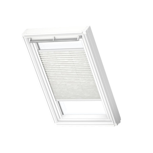 VELUX 1256 Pleated blind Classic White