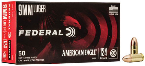 American Eagle | 124gr FMJ | 9mm