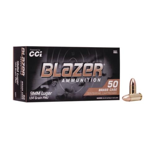 Blazer | 124gr FMJ | 9mm