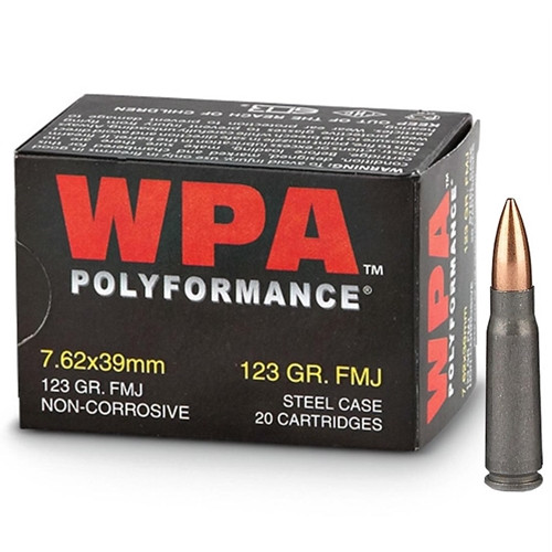 Wolf   123gr FMJ   7.62x39mm