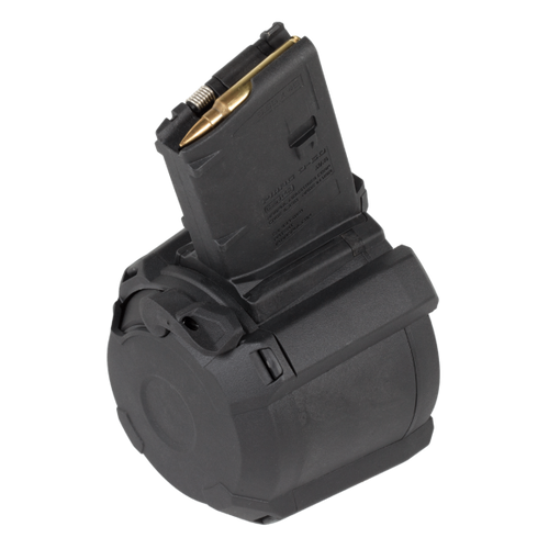 Magpul | PMAG D-60  AR/M4 GEN M3 | Drum Mag | Side Main Image