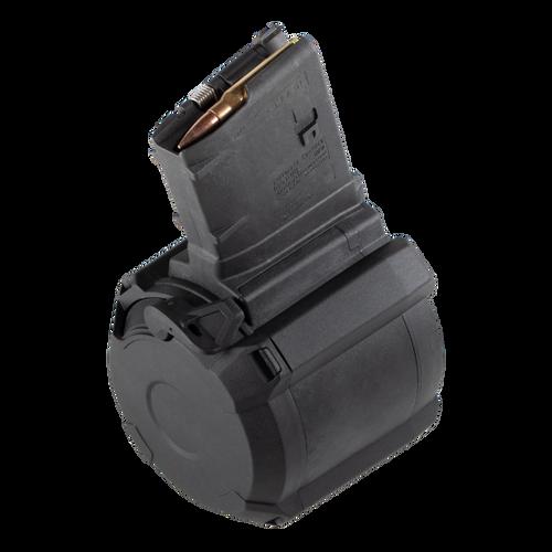 Magpul | PMAG D-50 LR/SR GEN M3 | Drum Mag | Side