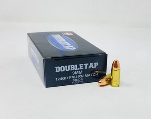 DoubleTap | 124gr FMJ RN Match | 9mm