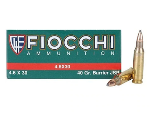 Fiocchi   40gr JSP   4.6 X 30mm HK