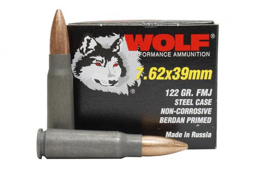 Wolf   122gr   FMJ   7.62X39mm