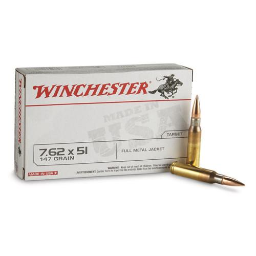 Winchester | 147gr FMJ | 7.62X51
