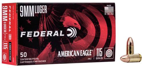American Eagle | 115gr FMJ | 9mm