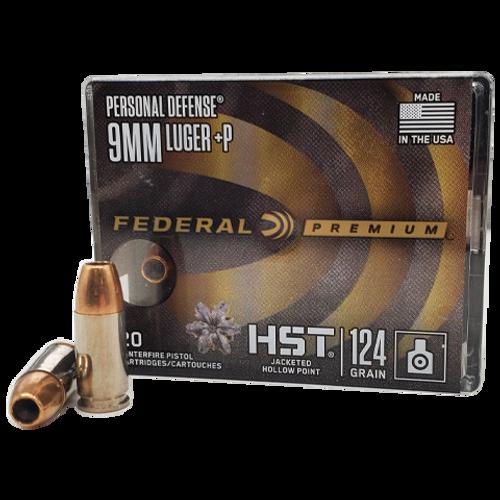 Federal | HST | 124gr JHP | 9mm + P