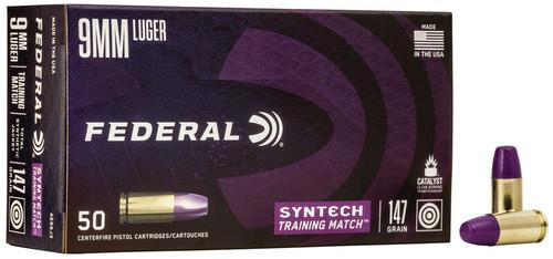 Federal | Syntech | 147gr FMJ | 9mm