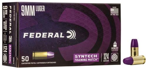 Federal | Syntech | 124gr FMJ | 9mm