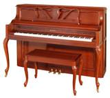 907 Designer Studio Piano | French Provincial Cherry Finish