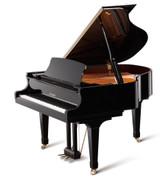 "GX-1 | 5'5"" BLAK Series Ebony Satin Classic Grand Piano"