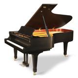 "GX-7 | 7'6"" BLAK Series Semi-Concert Grand Piano | Ebony Satin"