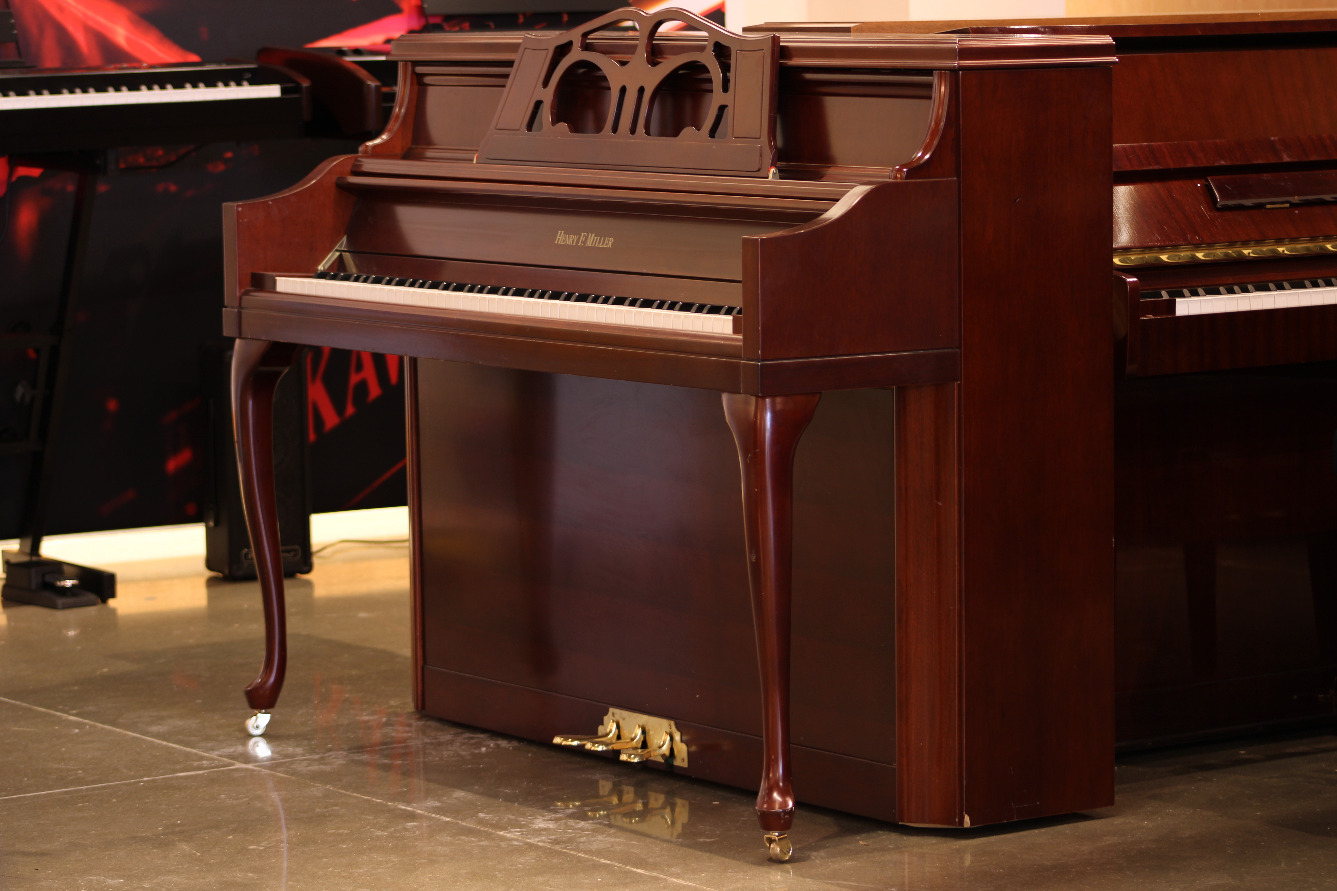 Henry F Miller | Upright Furniture Console Piano