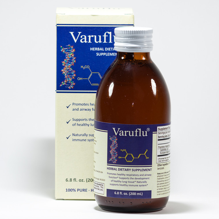 Varuflu package and bottle - IEG Store