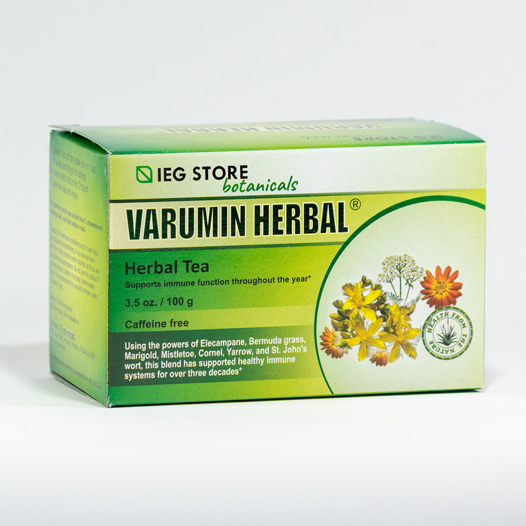 Varumin herbal tea box - IEG Store