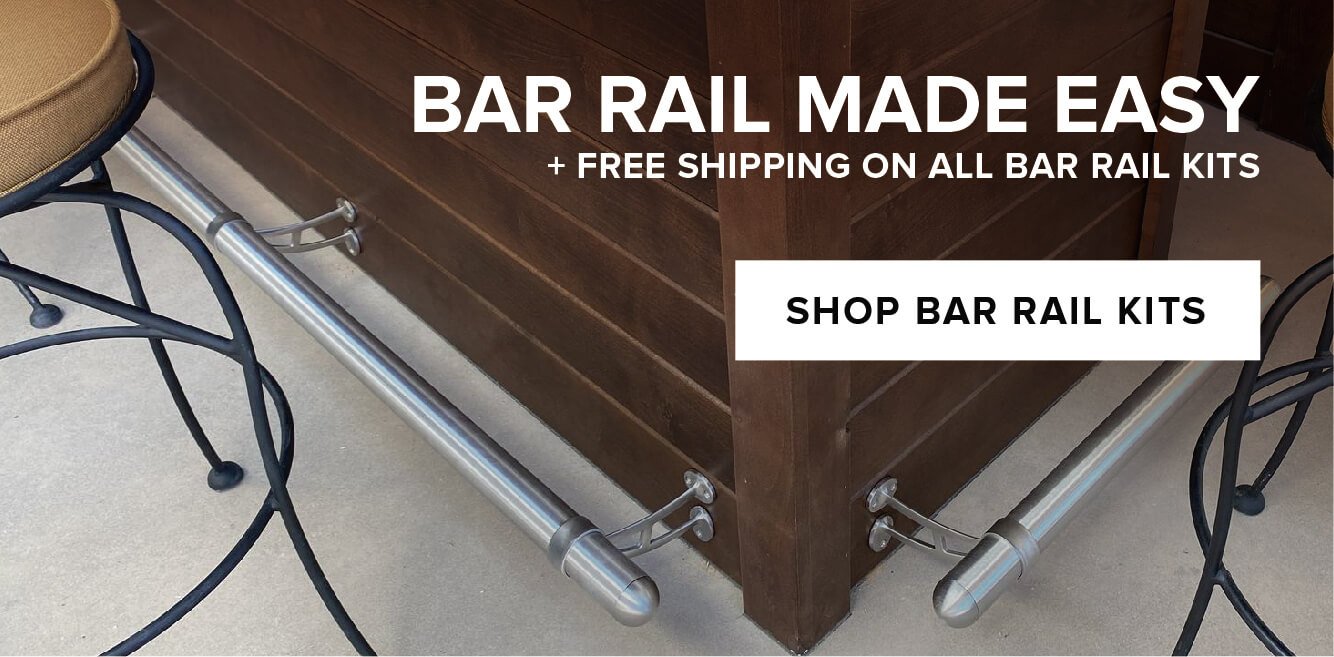 Bar Rail Kits + Free Shipping