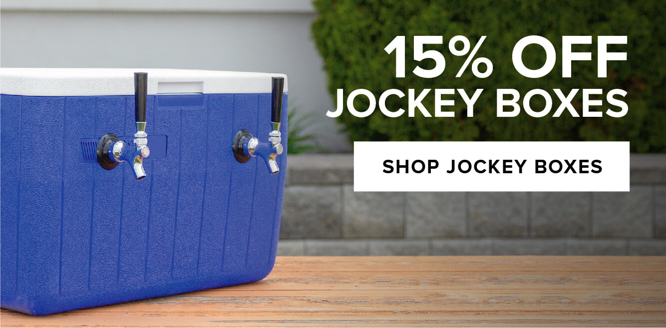 15% Off Jockey Boxes
