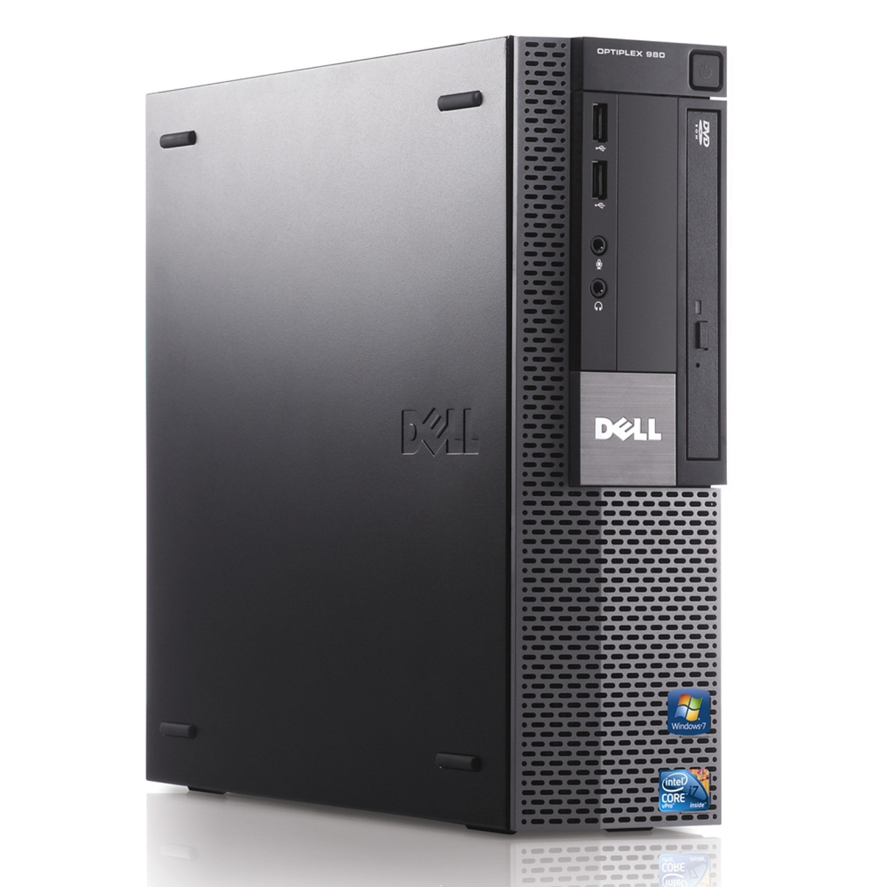 Dell Optiplex 980 SFF Core i5 3.2GHz, 4GB Ram, 250GB HDD, DVD-RW, Windows 10 Pro 64 Desktop Computer