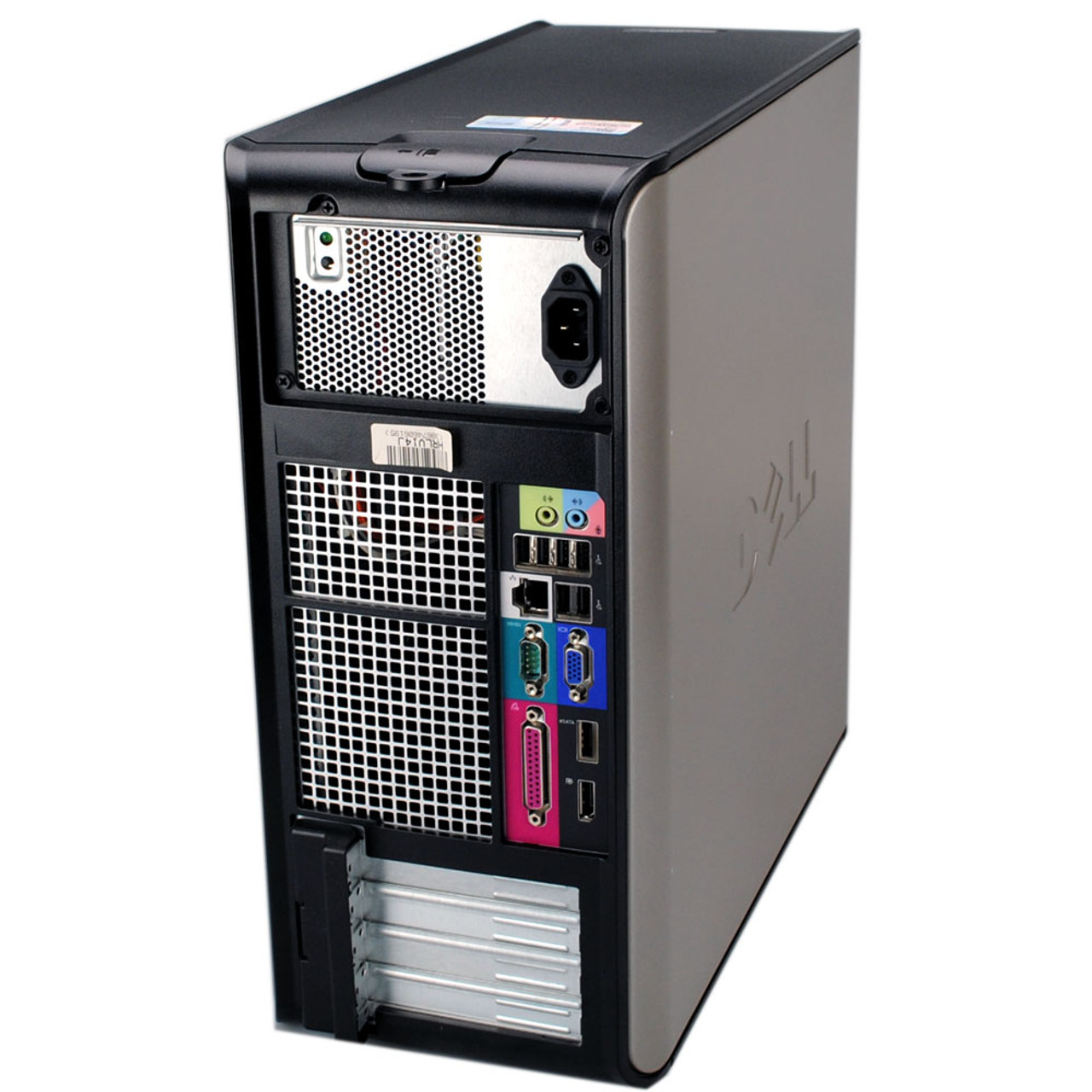 Dell Optiplex 760 Tower Core 2 Duo 3.0GHz, 4GB Ram, 160GB HDD, DVD-RW, Windows 7 Pro 64 Desktop Computer