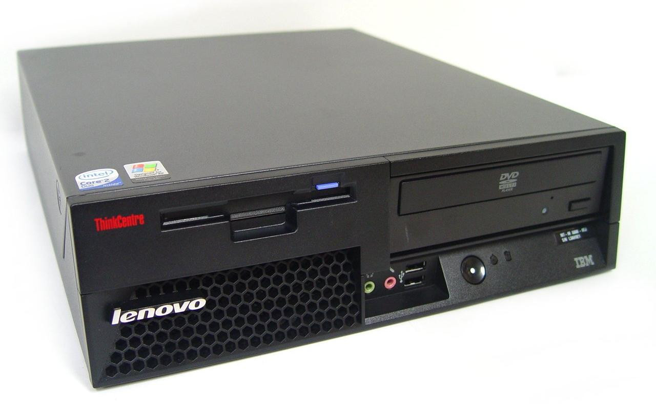 IBM Lenovo ThinkCentre 8808 SFF Core 2 Duo 2.40GHz, 3GB Ram, 80GB HDD, DVD-RW, Windows 7 Pro 64 Desktop Computer