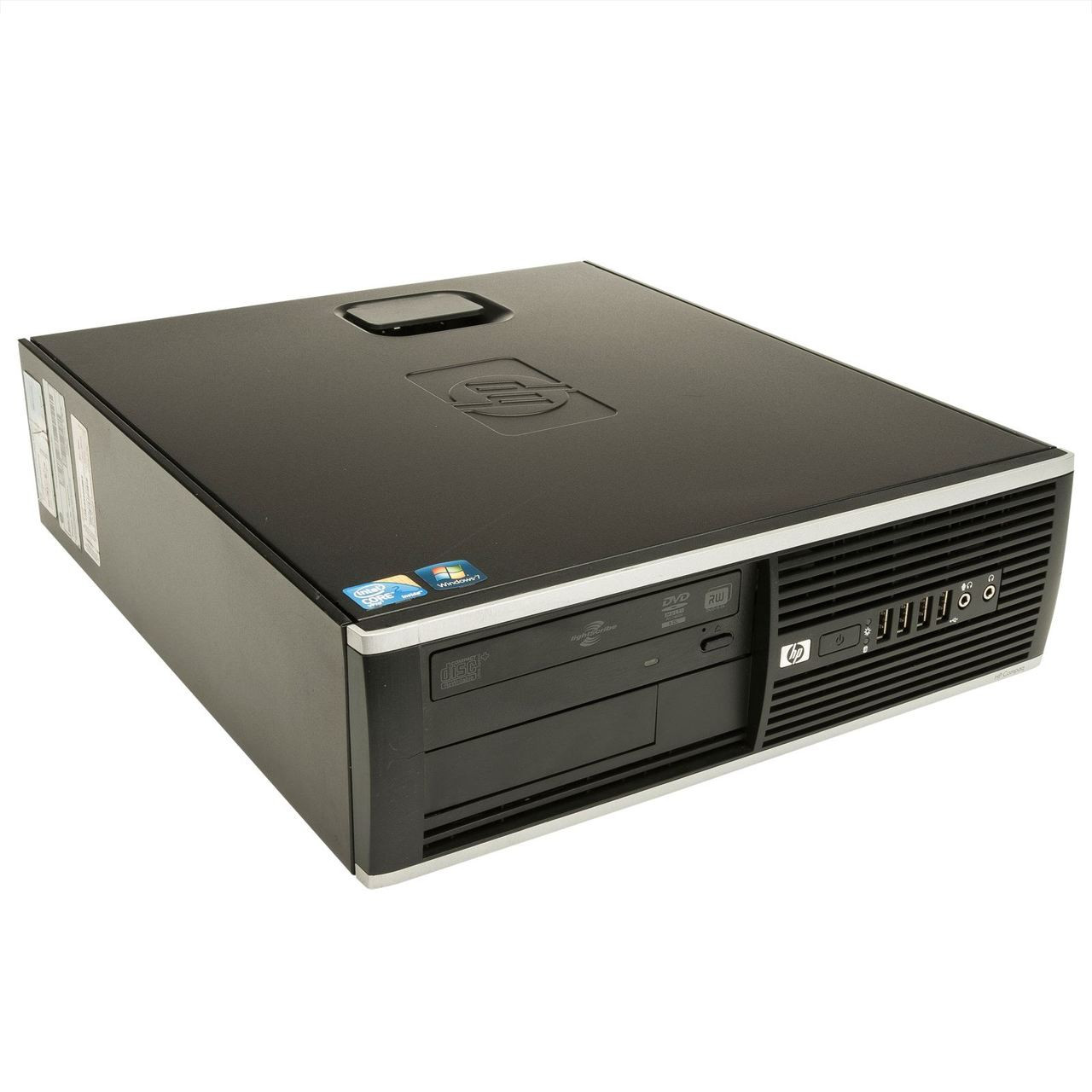 HP Compaq Elite 8000 SFF Intel Core 2 Duo 3.0GHz, 4GB Ram, 250GB HDD, DVD-RW, Windows 7 Pro 64 Desktop Computer