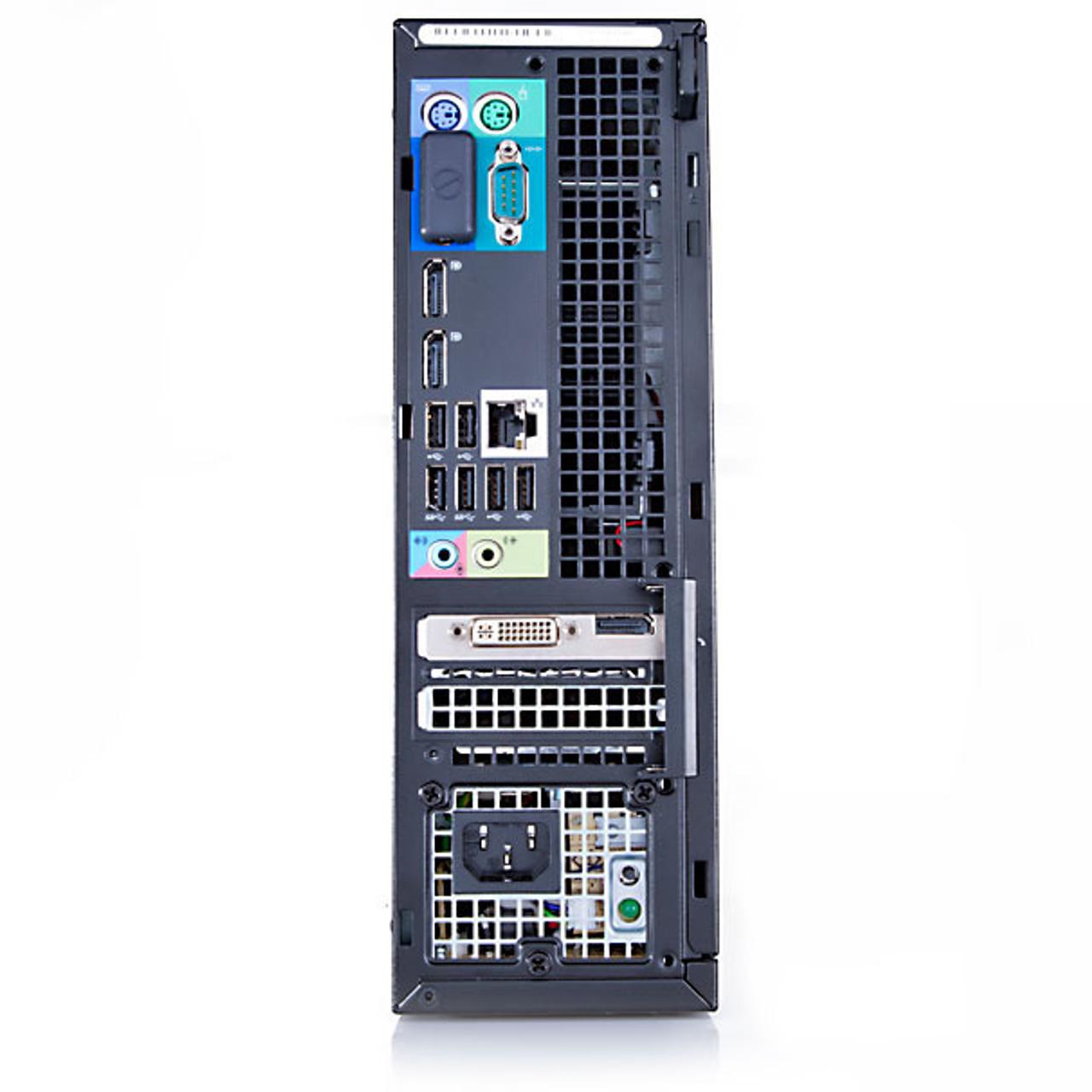 Dell Optiplex 9010 SFF Core i3 3.3GHz, 4GB Ram, 250GB HDD, DVD-RW, Windows 7 Pro 64 Desktop Computer