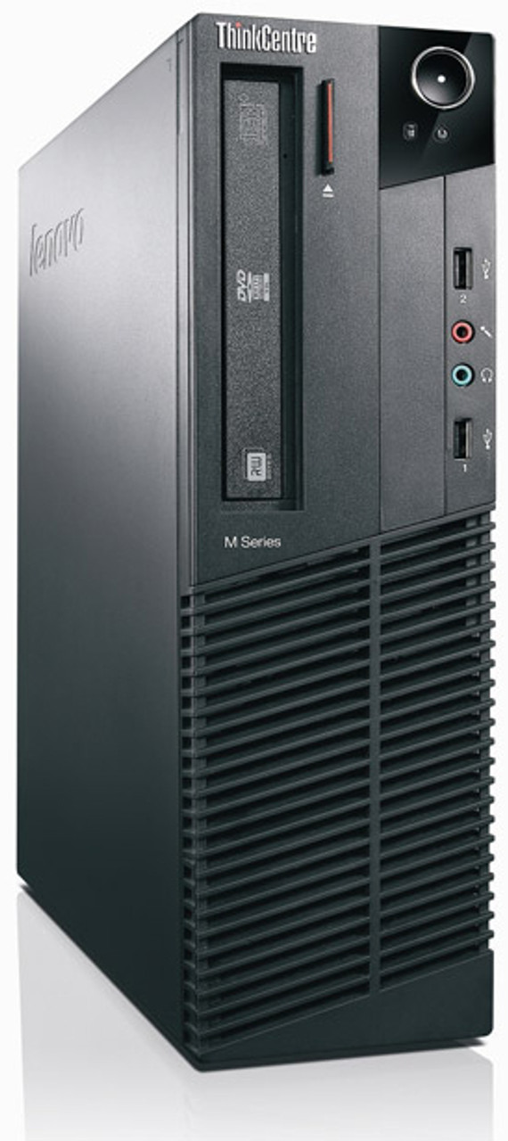 IBM Lenovo ThinkCentre M81 0385 SFF i5 Quad Core 3.1GHz, 4GB Ram, 500GB HDD, DVD-RW  Desktop Computer Windows 7 Pro 64