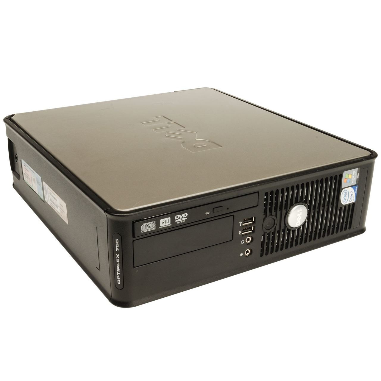 Dell Optiplex 755 SFF Intel Core 2 Duo 2.66GHz, 4GB Ram, 160GB HDD, DVD-RW, Windows 7 Pro 64 Desktop Computer