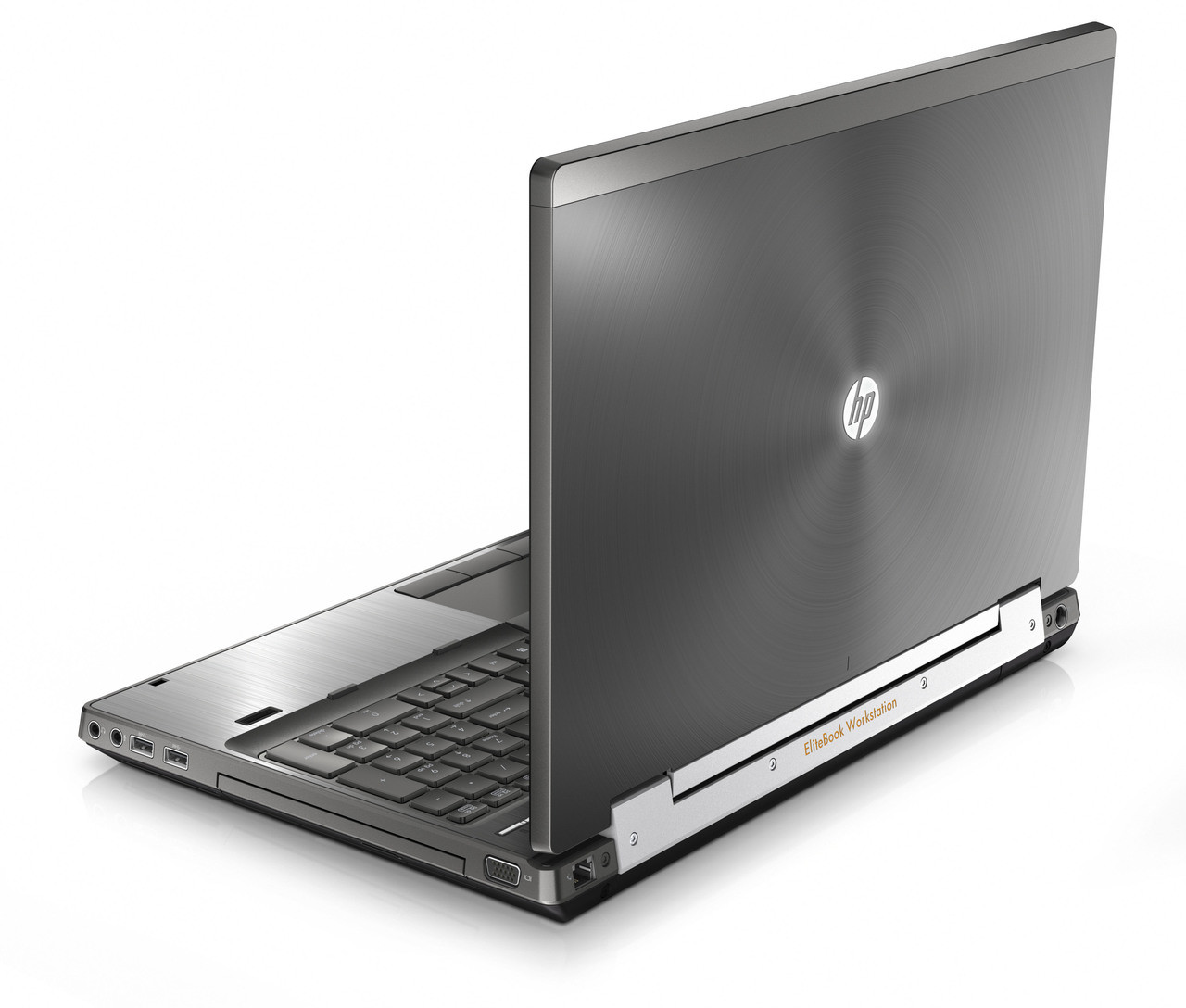 HP Compaq Elitebook 8560w Laptop Core i5 2.50GHz, 4GB Ram, 250GB HDD, DVD-RW, Notebook Windows 7 Pro 64 Notebook