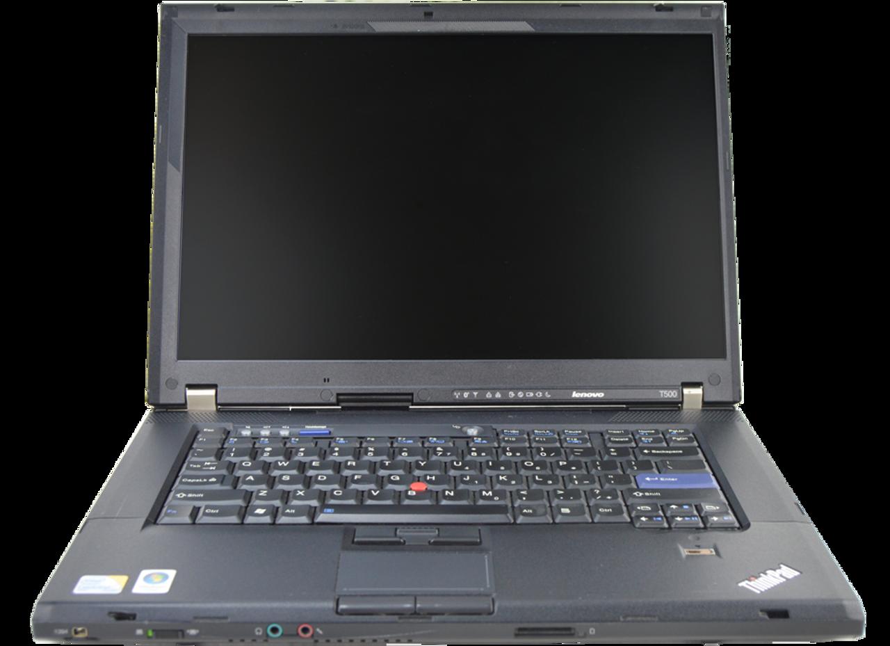 IBM Lenovo Thinkpad T500 Laptop Intel Core 2 Duo 2.53GHz, 4GB Ram, 250GB HDD, DVD-RW, Windows 7 Pro 64 Notebook