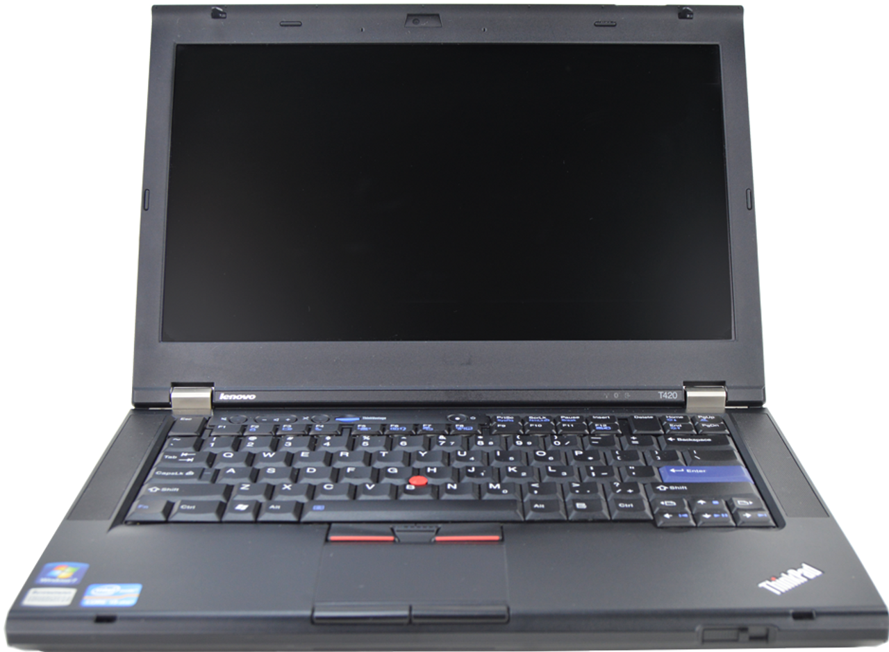 IBM Lenovo Thinkpad T420 Laptop Core i5 2.50GHz, 4GB Ram, 250GB HDD, DVD-RW, Windows 7 Pro 64 Notebook
