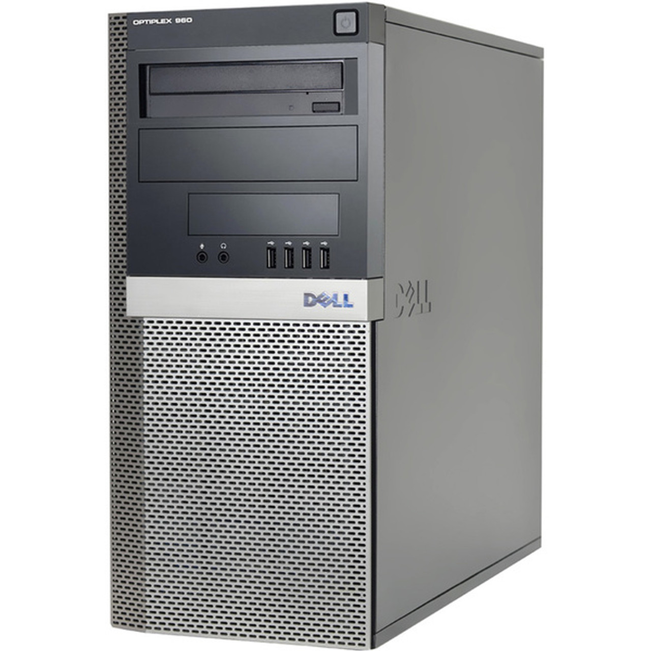 Dell Optiplex 960 Tower Intel Core 2 Duo 3.16GHz, 4GB Ram, 250GB HDD, DVD-RW, Windows 10 Pro 64 Desktop Computer