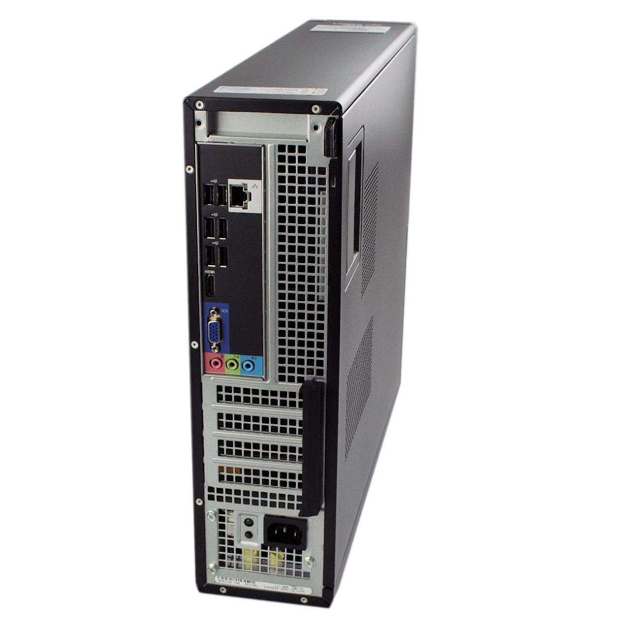 Dell Optiplex 390 SD Core i3 3.1GHz, 4GB Ram, 250GB HDD, DVD-RW, Windows 7 Pro 64 Desktop Computer