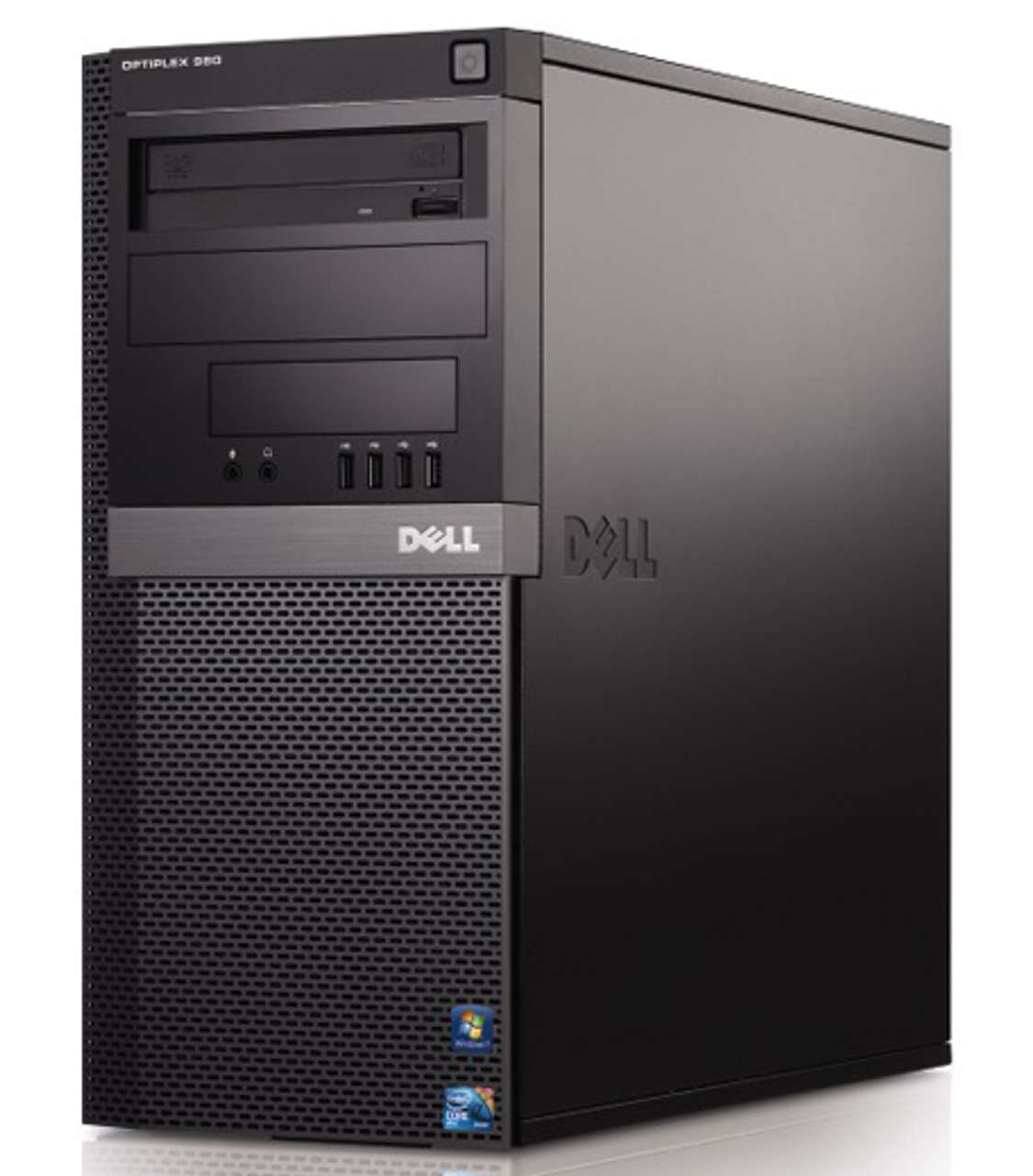 Dell Optiplex 980 Tower Quad Core i7 2.93GHz, 4GB Ram, 160GB HDD, DVD-RW, Windows 7 Pro 64 Desktop Computer